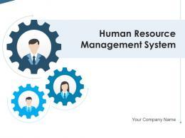 Human Resource Management System Enterprise Resource Organizational Capabilities Productivity