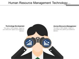 Human Resource Management Technology Development Food Supply Industry