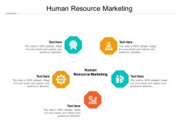 Human Resource Marketing Ppt Powerpoint Presentation Summary Topics Cpb