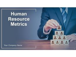 Human Resource Metrics Powerpoint Presentation Slides
