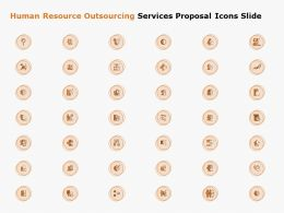 Human Resource Outsourcing Services Proposal Icons Slide Ppt Powerpoint Presentation Layouts