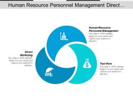 Human Resource Personnel Management Direct Marketing Net Working Capital Cpb
