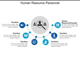 Human Resource Personnel Ppt Powerpoint Presentation Gallery Information Cpb