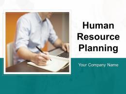 Human Resource Planning Powerpoint Presentation Slides