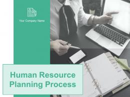 Human Resource Planning Process Powerpoint Presentation Slides