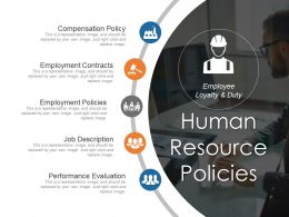 Human Resource Policies Sample Of Ppt Presentation