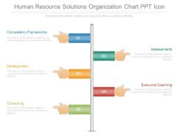 Human Resource Solutions Organization Chart Ppt Icon