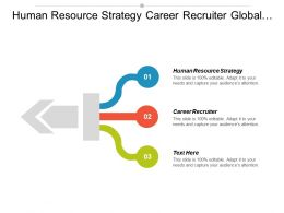 Human Resource Strategy Career Recruiter Global Management Organisation Behavior Cpb
