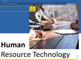 Human Resource Technology Powerpoint Presentation Slides