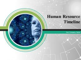Human Resource Timeline Powerpoint Presentation Slides