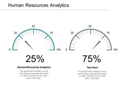 Human Resources Analytics Ppt Powerpoint Presentation Infographic Template Themes Cpb
