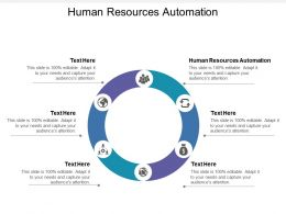 Human Resources Automation Ppt Powerpoint Presentation File Objects Cpb