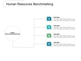 Human Resources Benchmarking Ppt Powerpoint Presentation Ideas Guidelines Cpb