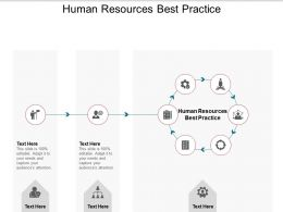 Human Resources Best Practice Ppt Powerpoint Presentation Model Cpb