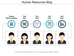 Human Resources Blog Ppt Powerpoint Presentation File Graphics Tutorials Cpb