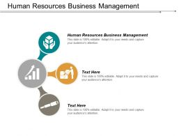 Human Resources Business Management Ppt Powerpoint Presentation Infographic Template Samples Cpb