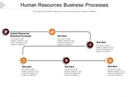 Human Resources Business Processes Ppt Powerpoint Presentation Slides Cpb