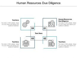 Human Resources Due Diligence Ppt Powerpoint Presentation Icon Graphics Cpb