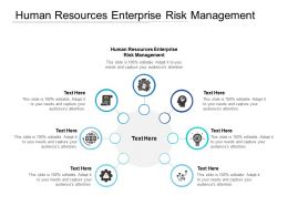 Human Resources Enterprise Risk Management Ppt Powerpoint Presentation File Background Cpb