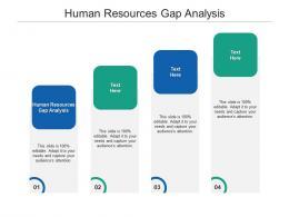 Human Resources Gap Analysis Ppt Powerpoint Presentation Information Cpb