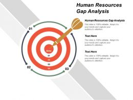 Human Resources Gap Analysis Ppt Powerpoint Presentation Portfolio Diagrams Cpb