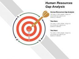 Human Resources Gap Analysis Ppt Powerpoint Presentation Portfolio Diagrams Cpb