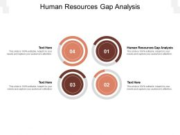 Human Resources Gap Analysis Ppt Powerpoint Presentation Show Mockup Cpb