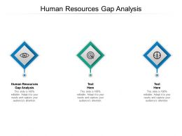 Human Resources Gap Analysis Ppt Powerpoint Presentation Visual Aids Cpb