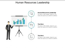 Human Resources Leadership Ppt Powerpoint Presentation Styles Ideas Cpb