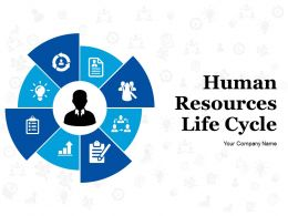 Human Resources Life Cycle Powerpoint Presentation Slides