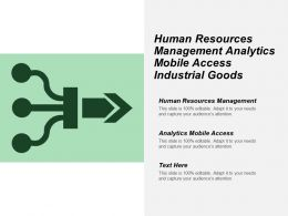 Human Resources Management Analytics Mobile Access Industrial Goods