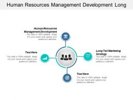 Human Resources Management Development Long Tail Marketing Strategy Cpb