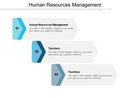 Human Resources Management Ppt Powerpoint Presentation File Slideshow Cpb