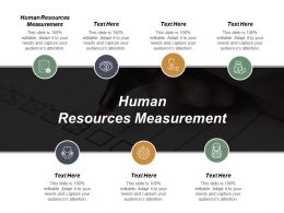 Human Resources Measurement Ppt Powerpoint Presentation Gallery Introduction Cpb