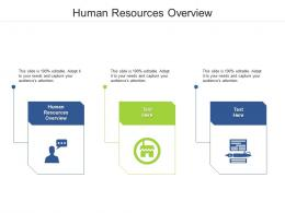 Human Resources Overview Ppt Powerpoint Presentation Ideas Rules Cpb
