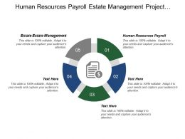 Human Resources Payroll Estate Management Project Management