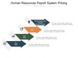 Human Resources Payroll System Pricing Ppt Powerpoint Presentation Icon Slide Portrait Cpb