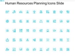 Human Resources Planning Icons Slide Management Growth C658 Ppt Powerpoint Presentation Introduction