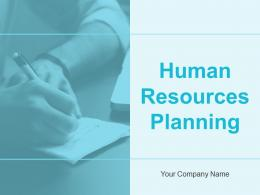 Human Resources Planning Powerpoint Presentation Slides