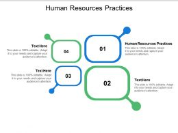 Human Resources Practices Ppt Powerpoint Presentation Layouts Background Images Cpb