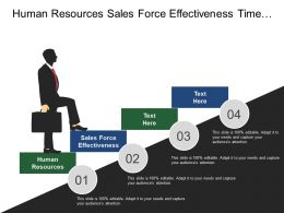 Human Resources Sales Force Effectiveness Time Labor Analysis