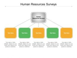 Human Resources Surveys Ppt Powerpoint Presentation Professional Samples Cpb