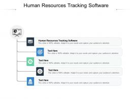 Human Resources Tracking Software Ppt Powerpoint Presentation Portfolio Vector Cpb
