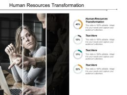 Human Resources Transformation Ppt Powerpoint Presentation Inspiration Example File Cpb
