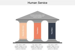 Human Service Ppt Powerpoint Presentation Gallery Introduction Cpb