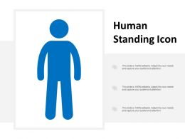 Human Standing Icon