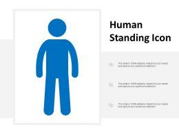 Human Standing Icon
