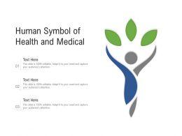 Human Symbol Of Health And Medical
