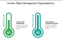 Human Talent Management Organizational Competitive Analysis Financial Risk Compliance Cpb