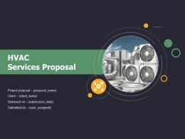 HVAC Services Proposal Powerpoint Presentation Slides